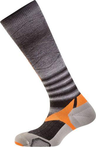 Salewa Skarpety Trek Balance Knee szaro-czarno-pomarańczowe r. 44-46 (68078-1200)