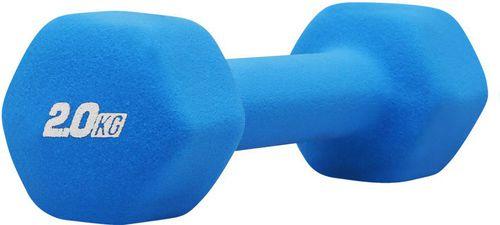 Platinum Fitness Hantla neoprenowa 2 kg Platinum Fitness niebieski roz. uniw (P0100)
