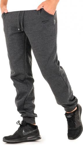 Hi-tec Męskie spodnie dresowe MELIAN DARK GREY MELANGE r. L (92800187303)