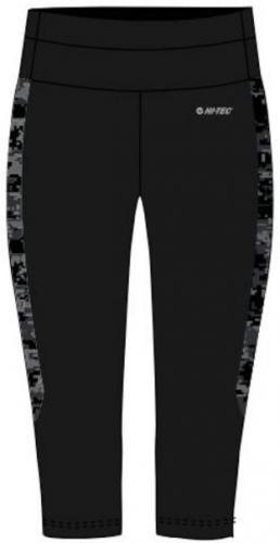 Hi-tec Spodnie damskie Lady Siba 3/4 Black/ Black Pattern r. M