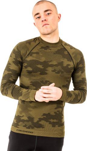 Freenord Koszulka męska Tactical LS zielona r. XXL