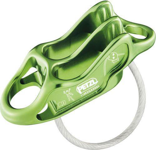 Petzl Przyrząd asekuracyjno-zjazdowy Reverso 4 Petzl Apple Green roz. uniw (D17 AG)