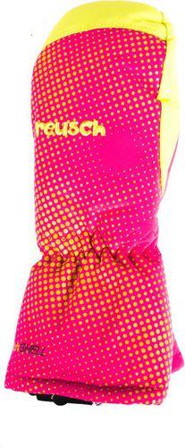 REUSCH Rękawice dziecięce Maxi R-Tex XT Mitten Reusch Fuchsia Purple/Lime Green roz. 2 (45 85 515 328)
