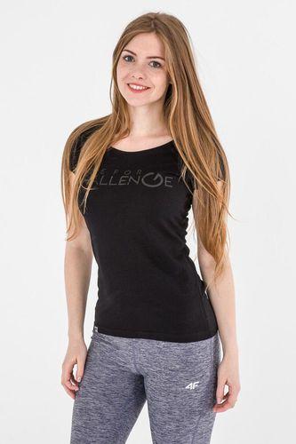 4f Koszulka damska H4L17-TSD011 4F czarna r. XS (H4L17-TSD011)