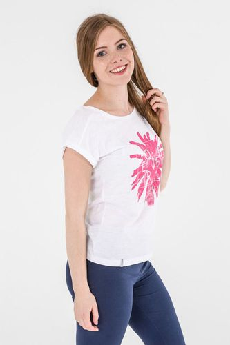 4f Koszulka damska H4L17-TSD010 4F biała r. S (H4L17-TSD010)
