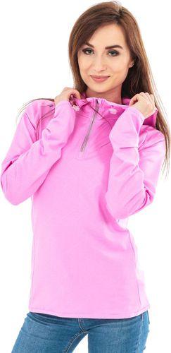 4f Bluza damska z kapturem T4Z16-BLDF001 różowa r. L
