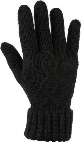 4f Rękawiczki damskie H4Z17-REDD001 czarne r. L/XL
