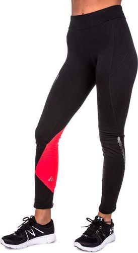 Craft Spodnie damskie Brilliant 2.0 Thermal Tights 1904312 Craft czarno-czerwone r. M (1904312-9825)