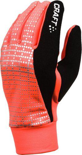 Craft Rękawiczki damskie Brilliant 2.0 Thermal Glove 1904311 Craft pomarańczowo-czarne r. M (1904311-2825)