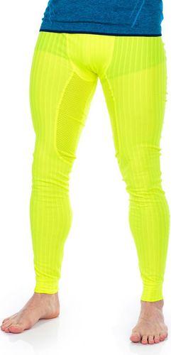 Craft Spodnie termoaktywne męskie Active Extreme 2.0 Brilliant Pants Baselayer limonkowe r. M (1905082-2851)