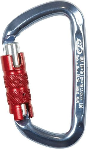 Climbing Technology Karabinek D-Shape CF TG (Triplex) Climbing Technology Titanium roz. uniw (L4770006)