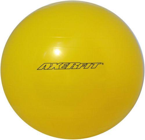 Axer Piłka gimnastyczna Standard 55cm Axer żółty roz. uniw (A1739)