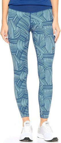 Asics Spodnie damskie FuzeX 7/8 Tight Asics Brush Kingfisher niebieskie r. L (1299901041)