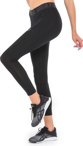 Asics Spodnie legginsy damskie Base 7/8 Tight Asics czarne r. XS (1436130904)