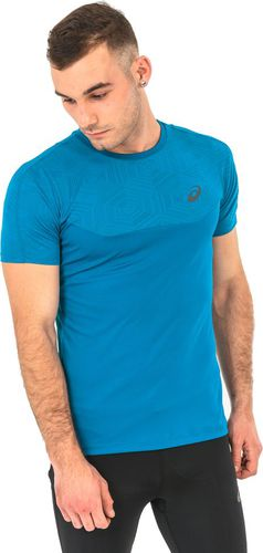 Asics Koszulka męska Ventilation Top Asics niebieska r. S (1416238154)