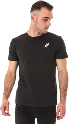 Asics Koszulka męska Spiral Top Performance czarna r. M (1314630904)