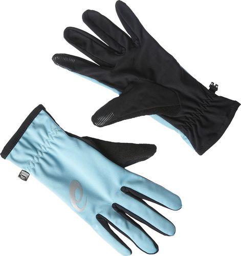 Asics Rękawiczki  Winter Kingfisher czarno-niebieskie  r. L (1349268148)