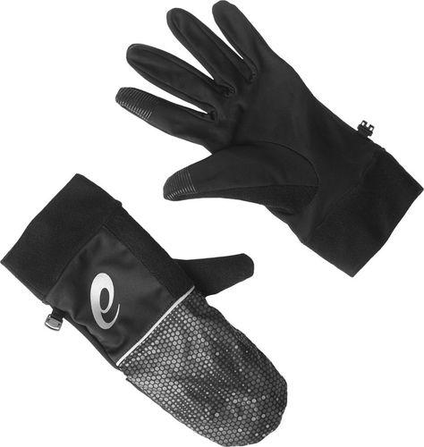 Asics Rękawiczki Mitten czarne  r. M (1349250904)