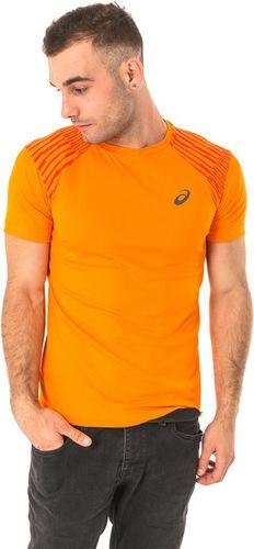 Asics Koszulka męska FuzeX Tee pomarańczowa r. XL (1412380524)