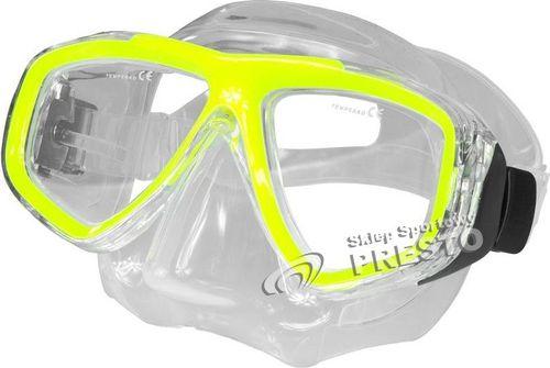 Aqua-Speed Maska do nurkowania Optic Aqua-Speed żółty roz. uniw
