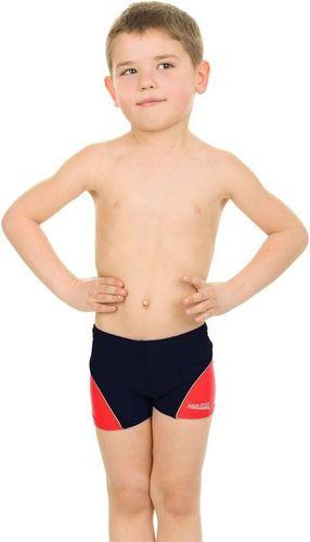Aqua-Speed Kąpielówki dziecięce Willy Junior Aqua-Speed granatowo-czerwony roz. 140