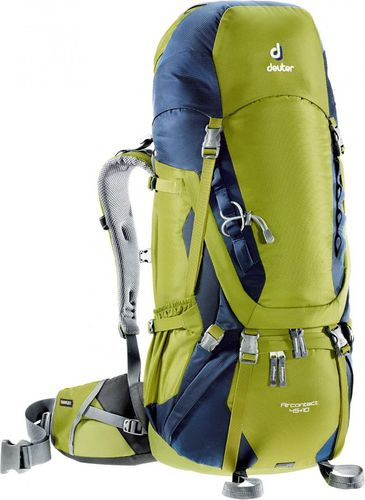 Deuter Plecak trekkingowy Aircontact 45 + 10 Deuter Moss/Navy roz. uniw (3320116-2313)
