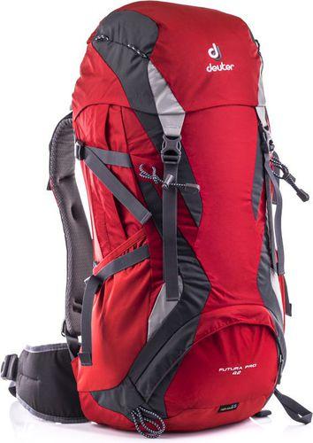 Deuter Plecak wspinaczkowy Futura Pro 42 Fire/Granite roz. uniw (34294-5510)