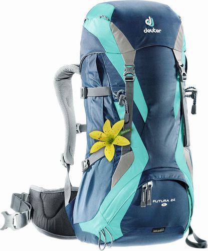 Deuter Plecak trekkingowy damski Futura 24 SL Deuter Midnight/Mint roz. uniw (34224-3218)
