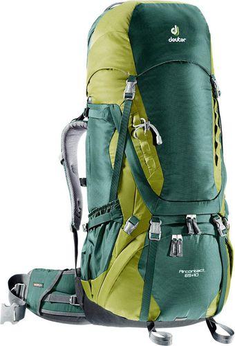 Deuter Plecak turystyczny Aircontact 65 + 10 Deuter Forest/Moss roz. uniw (3320516-2218)