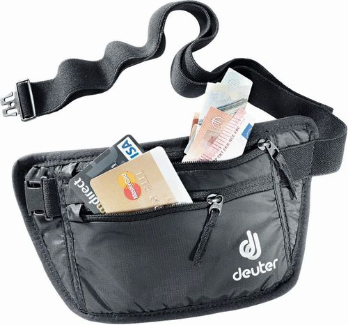 Deuter Saszetka Security Money Belt I Deuter Black