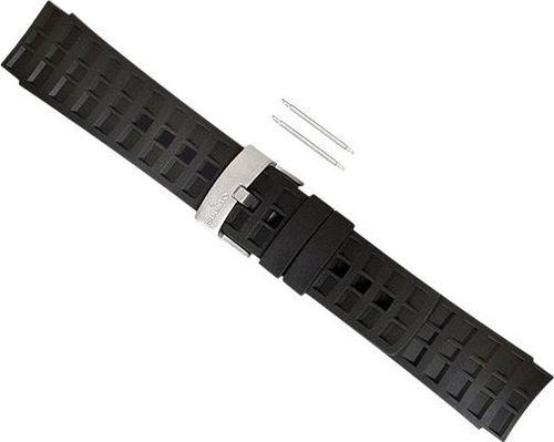 Suunto Pasek do zegarka Elementum Black Rubber Strap Suunto  roz. uniw (SS014827000)