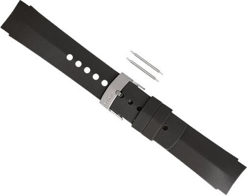 Suunto Pasek do zegarka Elementum Ventus Rubber Grey Strap Suunto  roz. uniw (SS014823000)