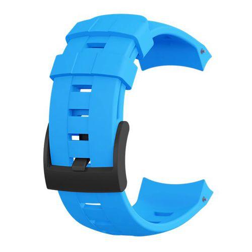 Suunto Pasek do zegarka Ambit3 Vertical Silicone Strap Suunto Blue roz. uniw (SS022006000)