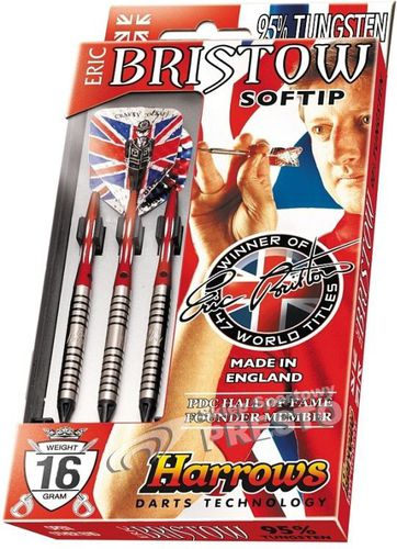 Harrows Rzutki do dart softip Eric Bristow 16g Harrows  roz. uniw (005819)