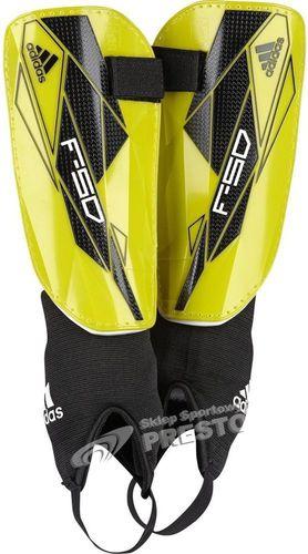 Adidas Ochraniacze piłkarskie F50 Replique 2013 limonkowe r. XL (W44152)
