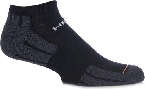 Head Skarpety sportowe stopki Performance Sneaker 2-Pack czarno-szare r. 35-38 (741017001200)
