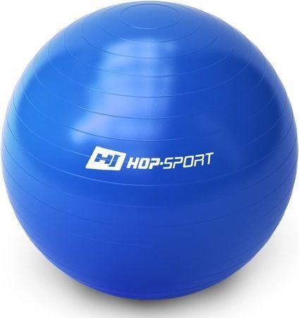Hop-Sport Piłka gimnastyczna Gym Ball 65cm Hop-Sport niebieski roz. uniw