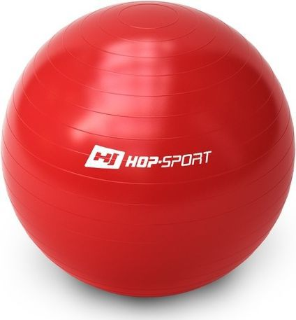 Hop-Sport Piłka gimnastyczna Gym Ball 65cm Hop-Sport czerwony roz. uniw