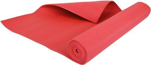 Hop-Sport Mata do ćwiczeń joga 4mm Hop-Sport czerwony roz. uniw