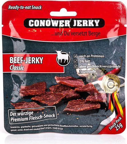 Conower Jerky Suszona wołowina Beef Classic 25g Conower Jerky  roz. uniw