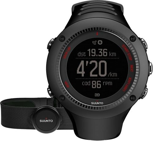 Suunto Zegarek do biegania GPS Ambit3 Run Black (SS021257000)