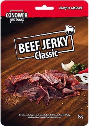 Conower Meat Snacks Suszona wołowina Beef Jerky Classic 60g Conower Meat Snacks  roz. uniw (730371)