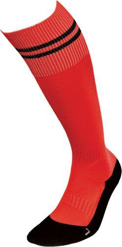 JJW Getry piłkarskie Football Deodorant Silver czerwono-czarne r. 44-46