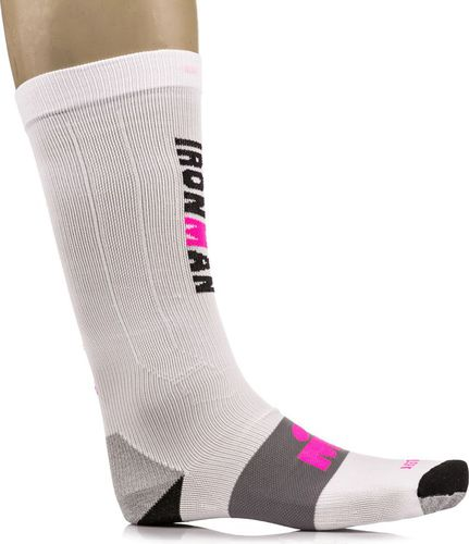 IRONMAN Skarpetki Compression Pro White/Pink r. 35-38 (11708)