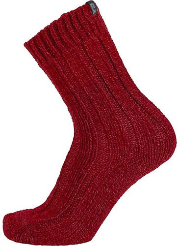 Jack Wolfskin Skarpety Recovery Wool Sock Classic Cut Indian Red r. 35-37 (1904491-2210357)