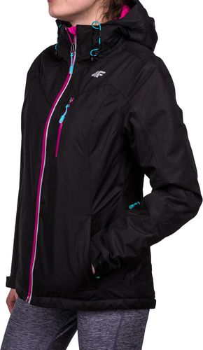 4f Kurtka narciarska damska T4Z16-KUDN005 5.000 4F czarny roz. L (T4Z16.KUDN005)