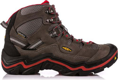 Keen Buty męskie Durand Mid WP European Made Magnet/Racing Red r. 44 (113865)