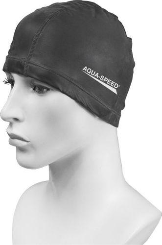 Aqua-Speed Czepek pływacki Best Aqua-Speed czarny roz. uniw