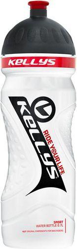 Kellys Bidon rowerowy 700ml Sport Kellys White/Black roz. uniw