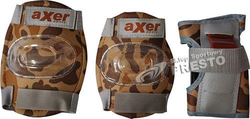 Axer Sport Zestaw ochraniaczy MORO BROWN brązowe r. M  (A2881)
